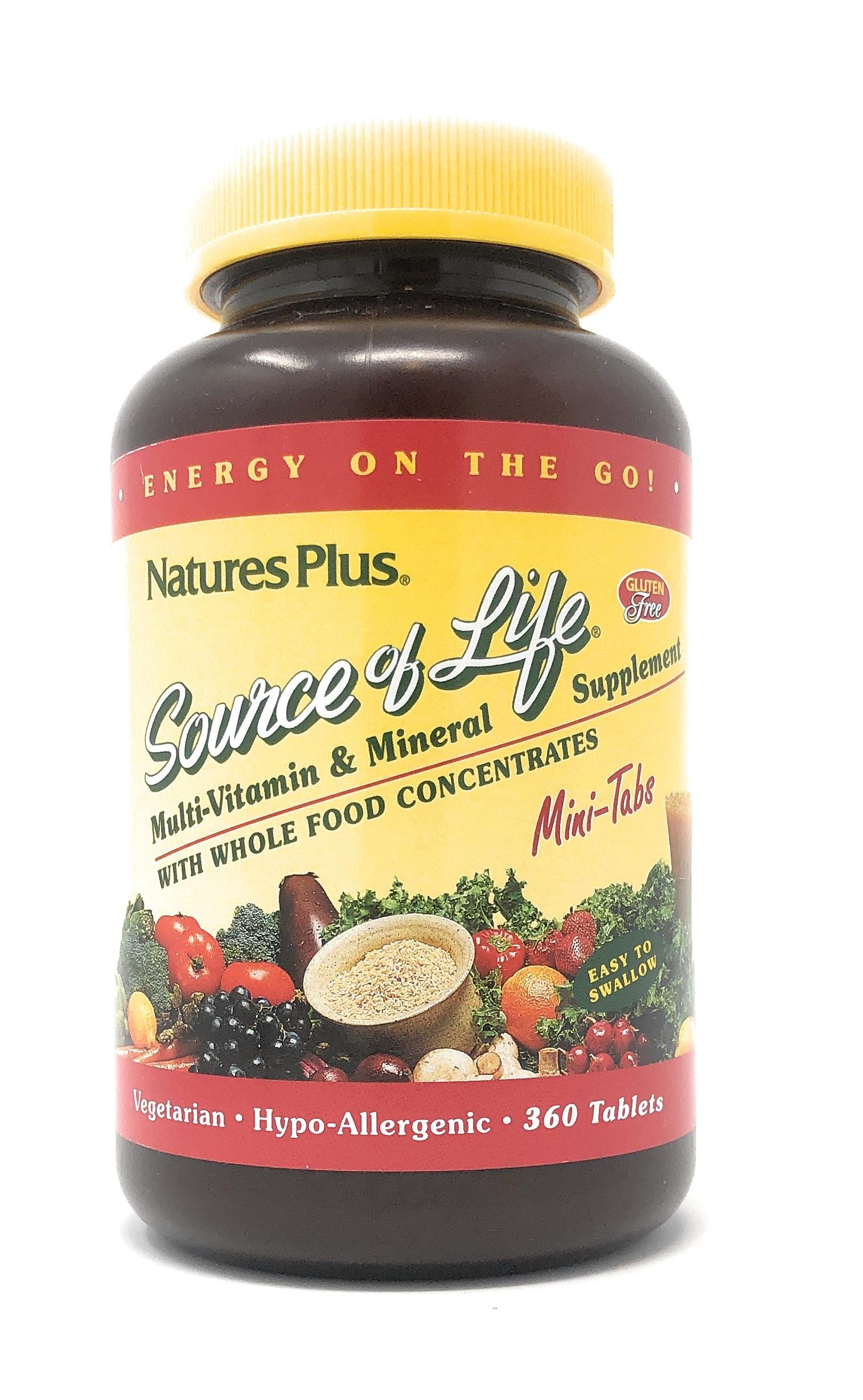 Natures Plus Source of Life® Mini-Tabs 360 Mini-Tabletten (375g)