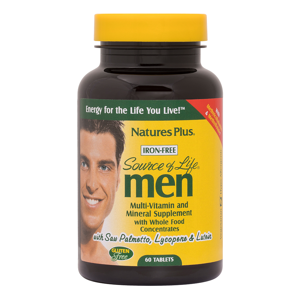 Natures Plus Source of Life Men 60 Tabletten (117g)