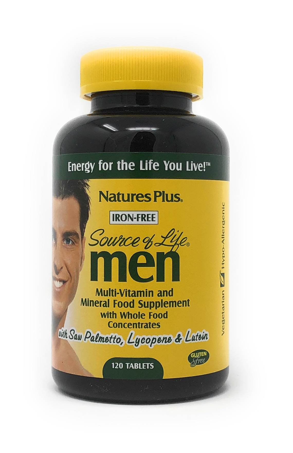 Natures Plus Source of Life Men 120 Tabletten (233g)