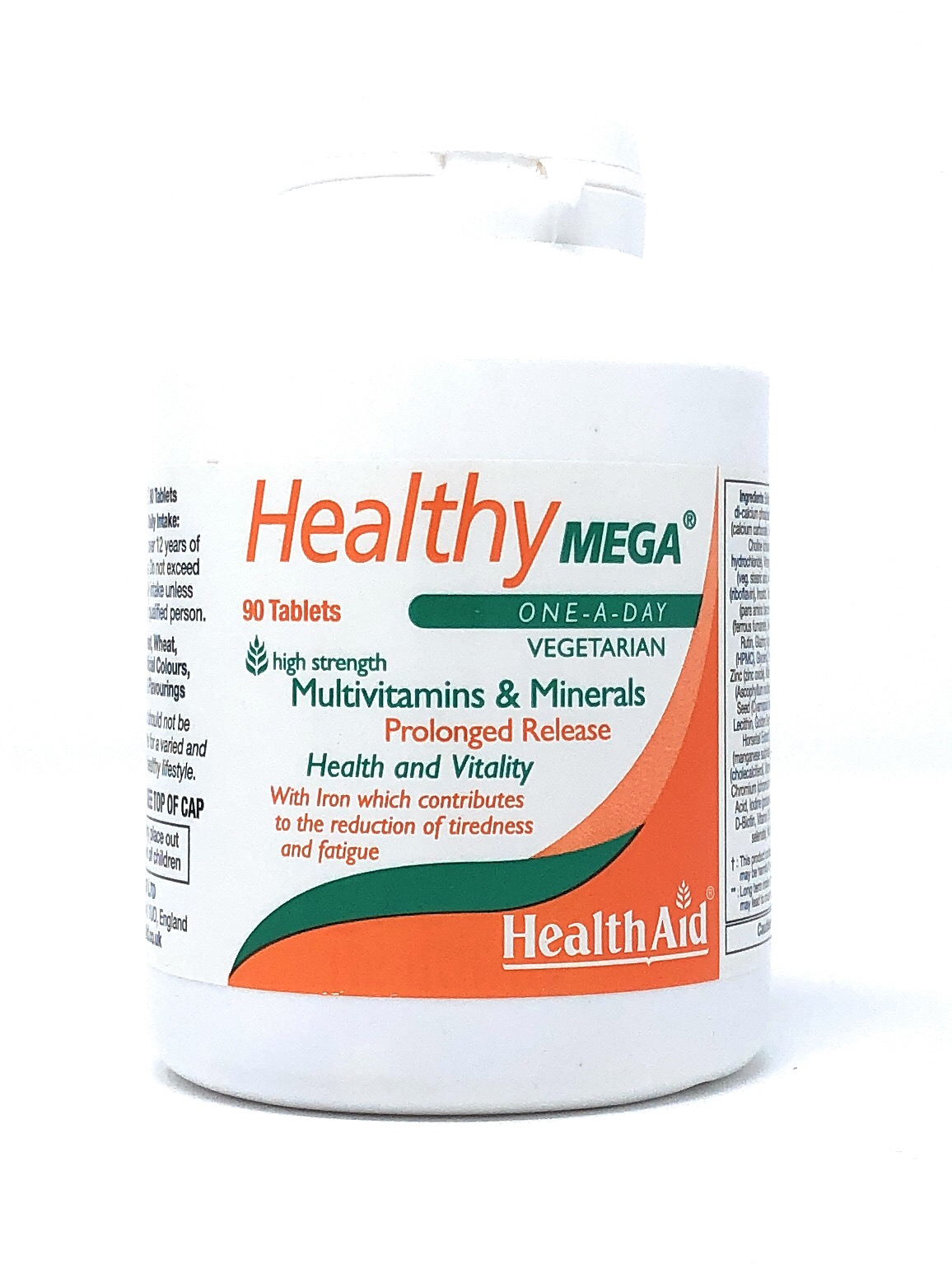 Health Aid Healthy Mega® Multivitamin S/R (verz. Freisetzung) 90 Tabletten