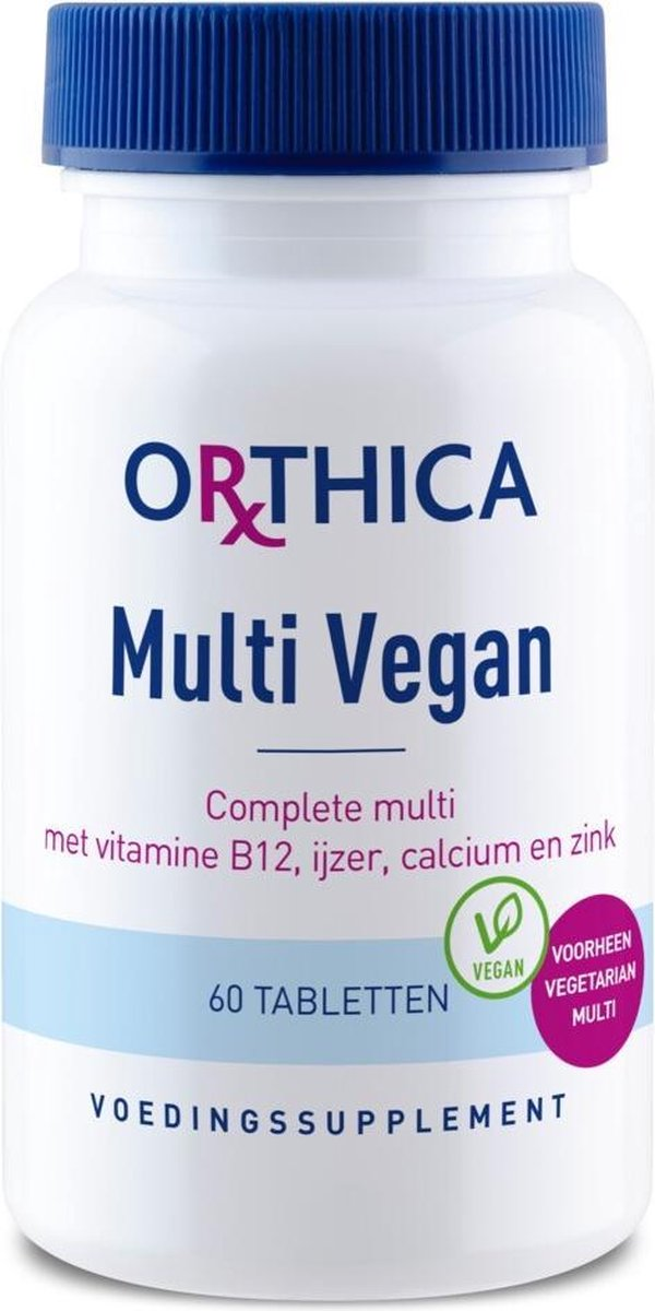 Orthica Multi Vegan 60 Tabletten (29g) (vegan)