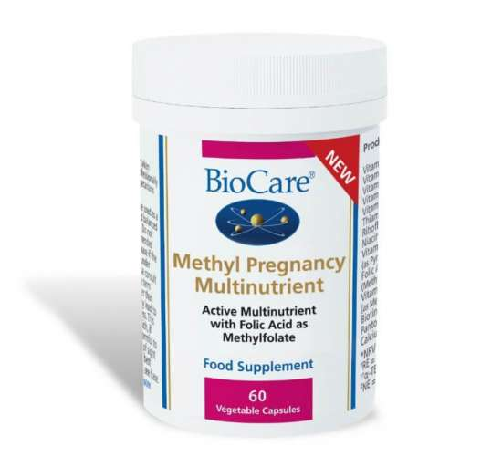 Biocare Methyl Pregnancy Multinutrient 60 veg. Kapseln