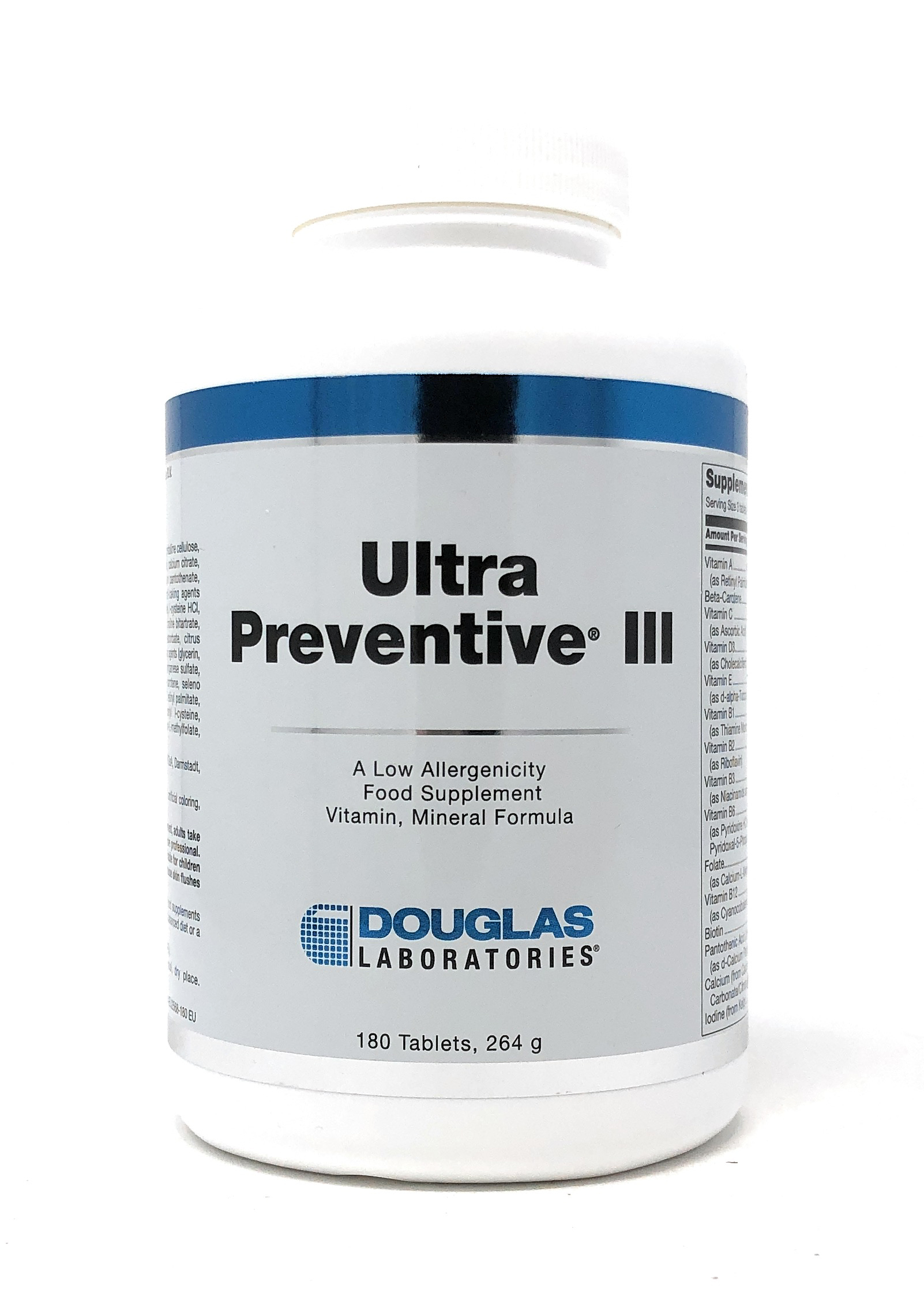 Douglas Laboratories Europa Ultra Preventive III 180 Tabletten (264g)