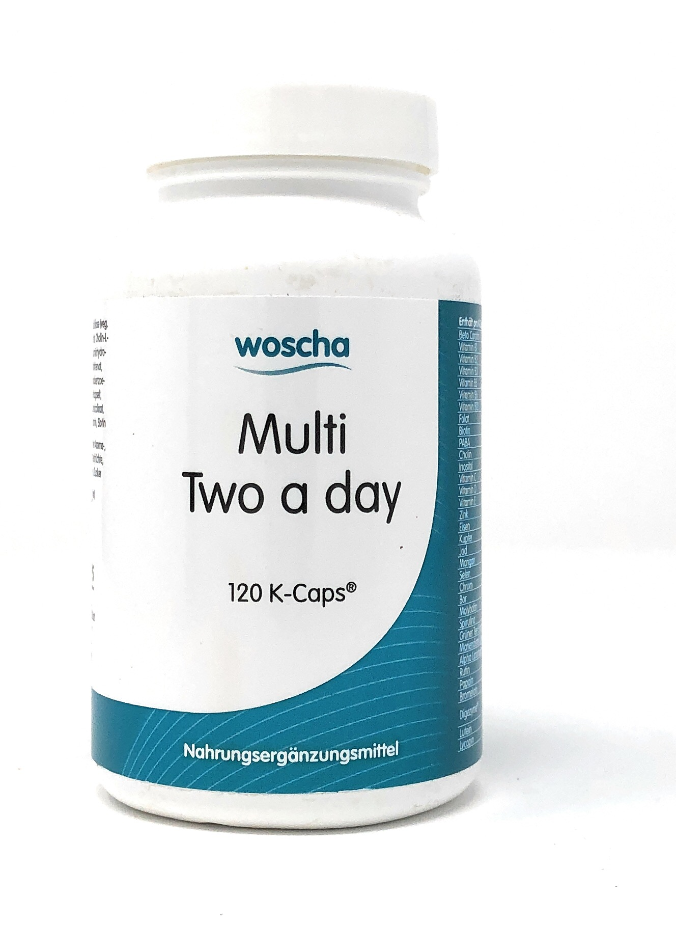Woscha Multi Two a Day 120 K-CAPS® (vegan) (104g)