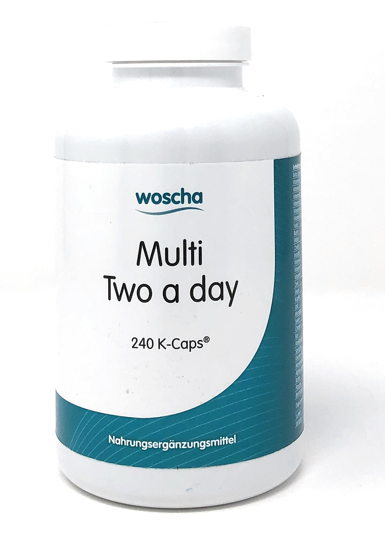 woscha Multi Two a Day 240 Embo-CAPS® (203g)