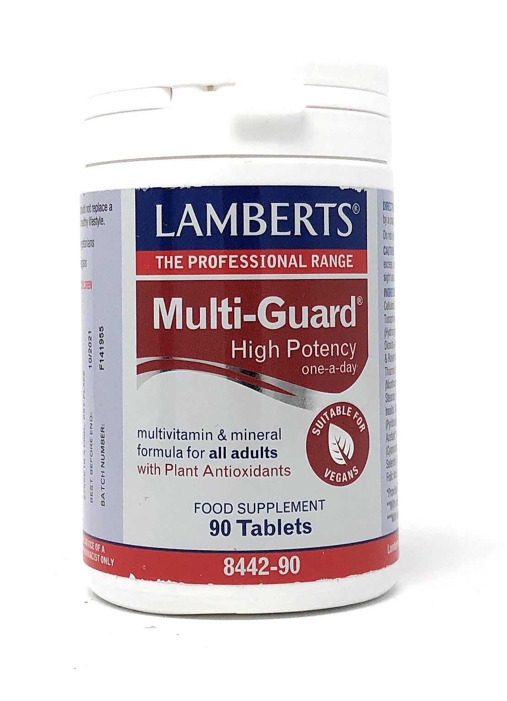 Lamberts Healthcare Ltd. MULTI-GUARD© 90 Tabletten (vegan)