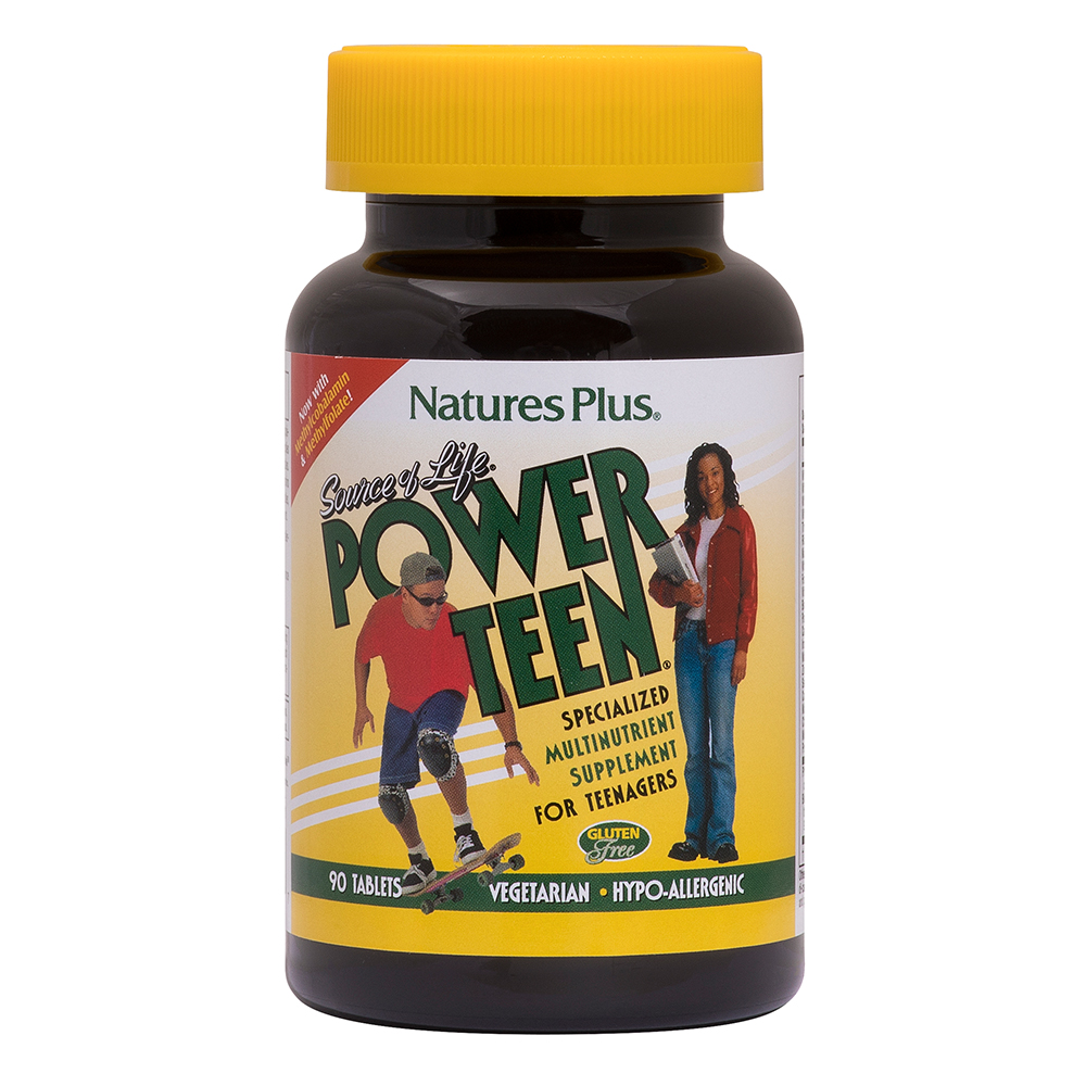 Natures Plus Source of Life® Power Teen 90 Tabletten (143,5g)