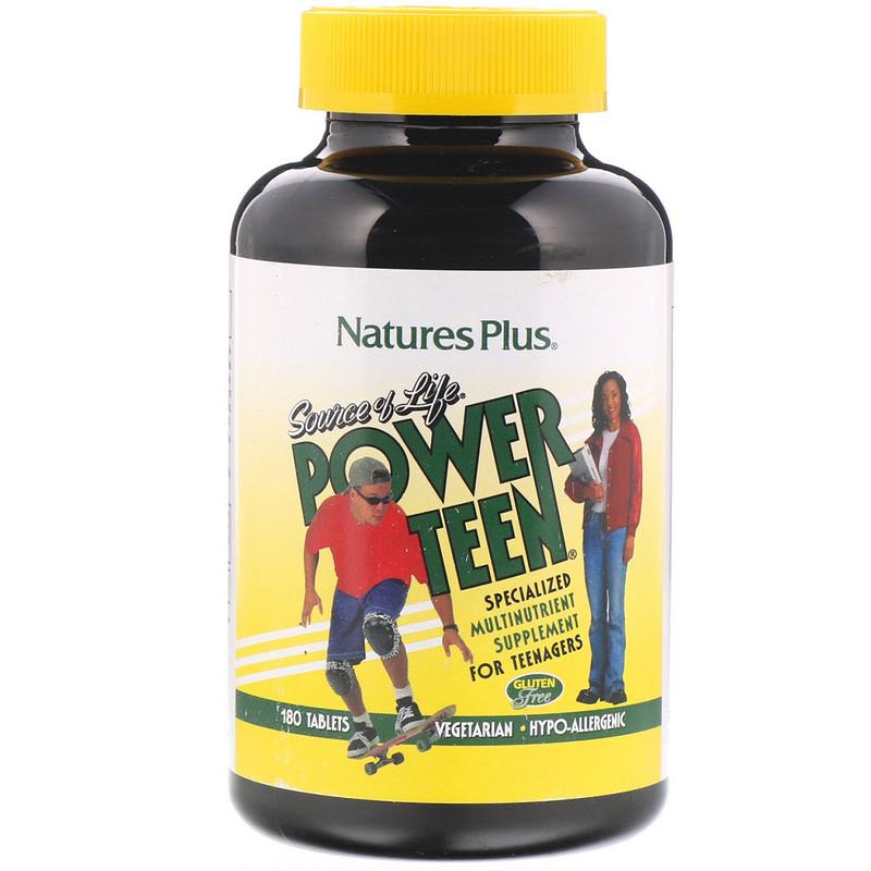 Natures Plus Source of Life® Power Teen 180 Tabletten (278,1g)