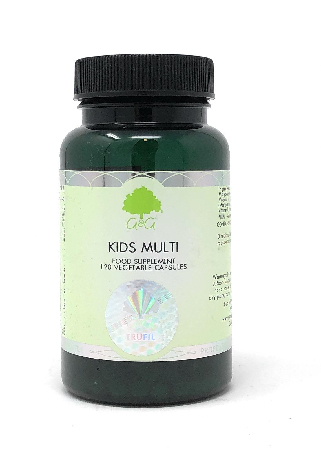 G&G Vitamins Kids Multi 120 veg. Kapseln (13,6g)