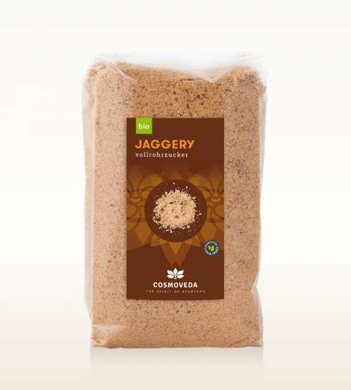 Jaggery (ind. Vollrohrzucker) Bio DE-ÖKO-003 400g Beutel
