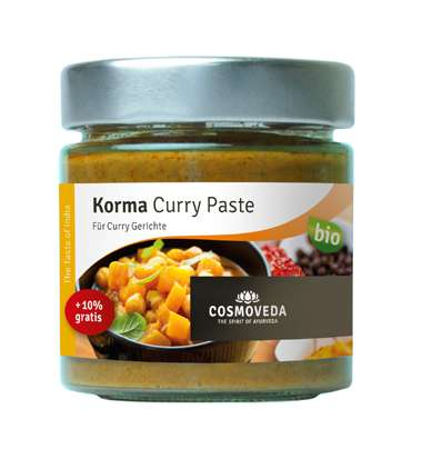 Cosmoveda BIO Korma Curry Paste  175 g