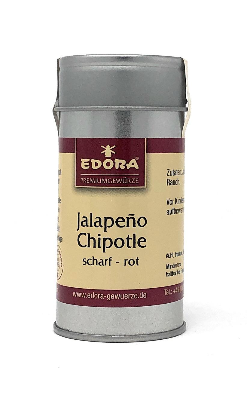 Edora Chili Jalapeno Chipotle rot gem. 35g Alu Streudose - Schärfegrad 5