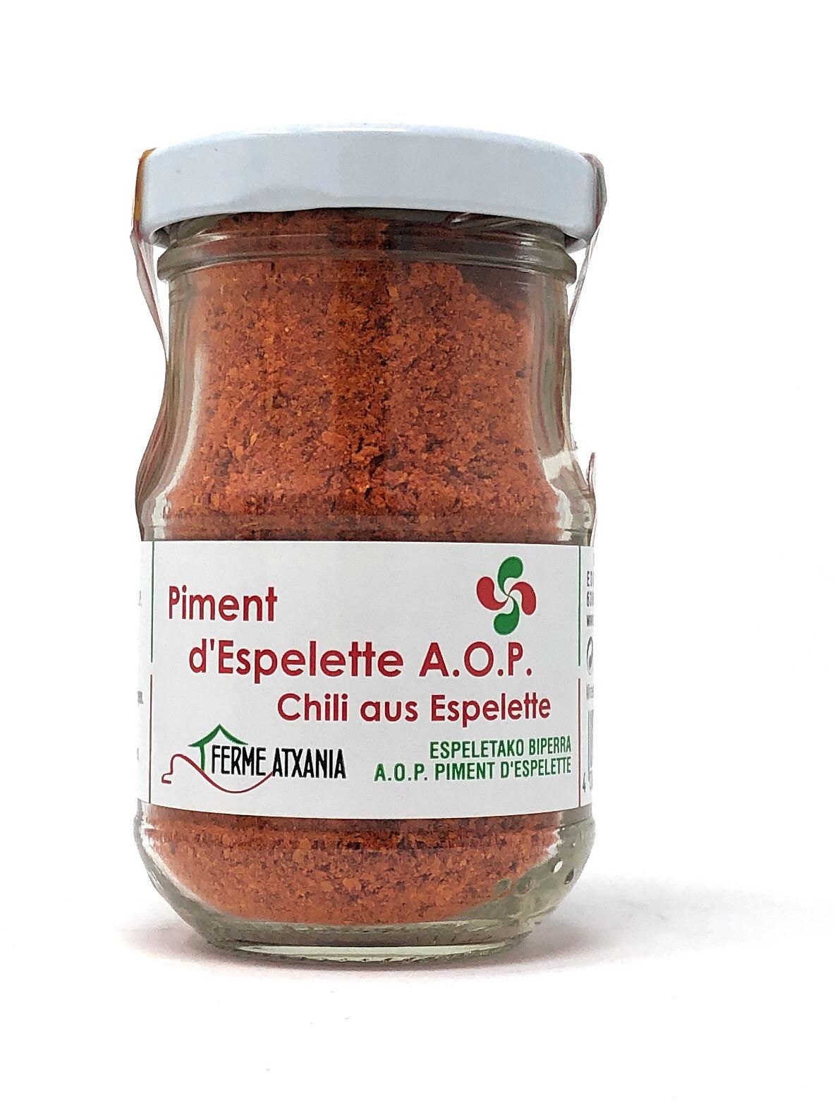 Ferme Atxania AOC Piment dEspelette 50g Glas