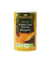 Cosmoveda BIO Korma Curry Masala -Gewürzpulver 25g