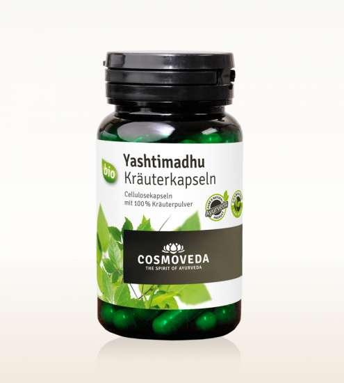Cosmoveda BIO Yashtimadhu (Süßholzwurzel) Kapseln 80 Stück (vegan)