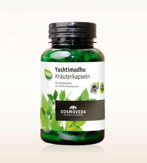Cosmoveda BIO Yashtimadhu (Süßholzwurzel) Kapseln 200 Stück (vegan)