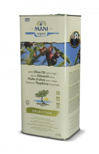 Mani Bio Olivenöl extra virgin Selection 5l Metallkanister (vegan)