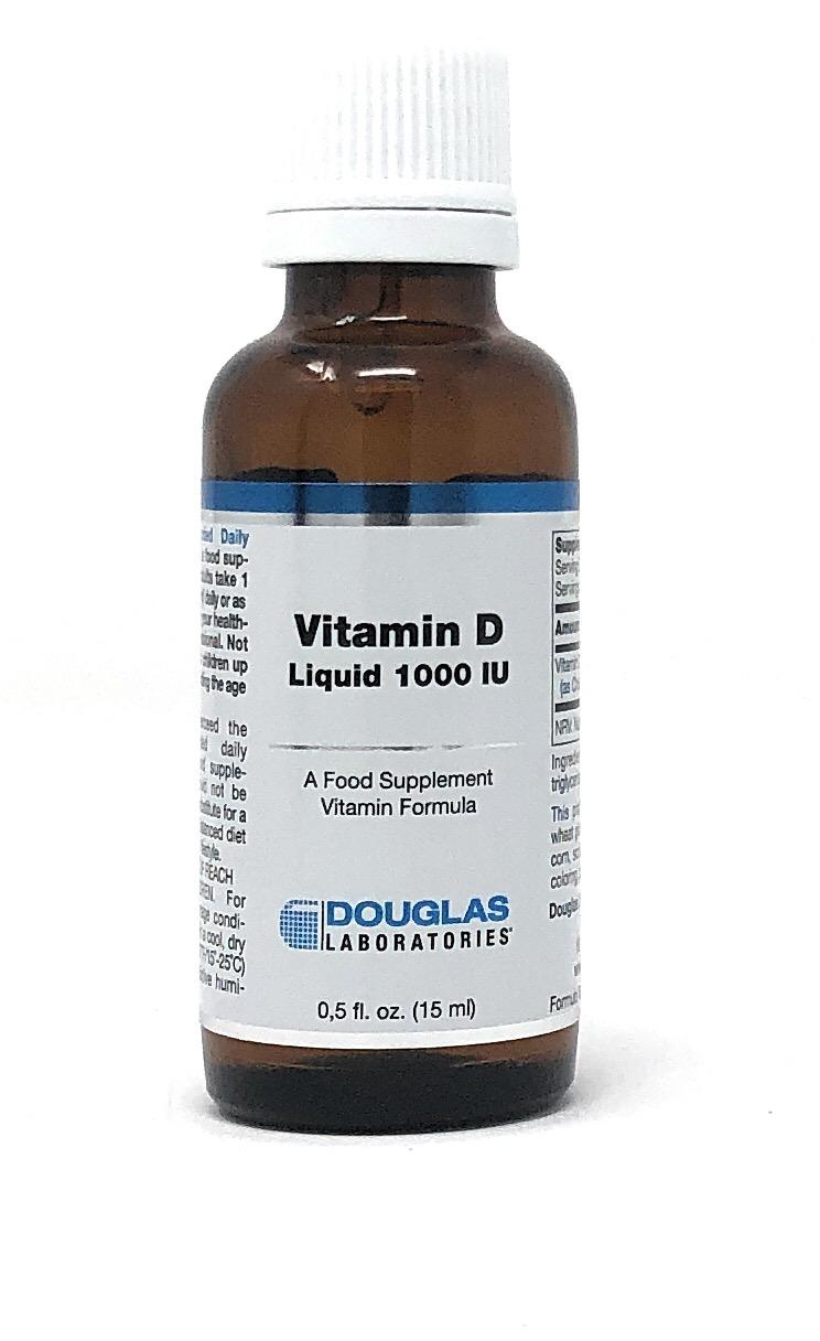 Douglas Laboratories Europe Vitamin D (Liquid 1000IU) Flüssig 15ml