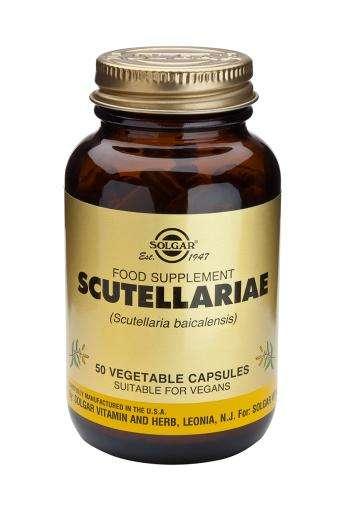Solgar Scutellariae (Baikal-Helmkraut) 50 veg Kapseln (vegan)