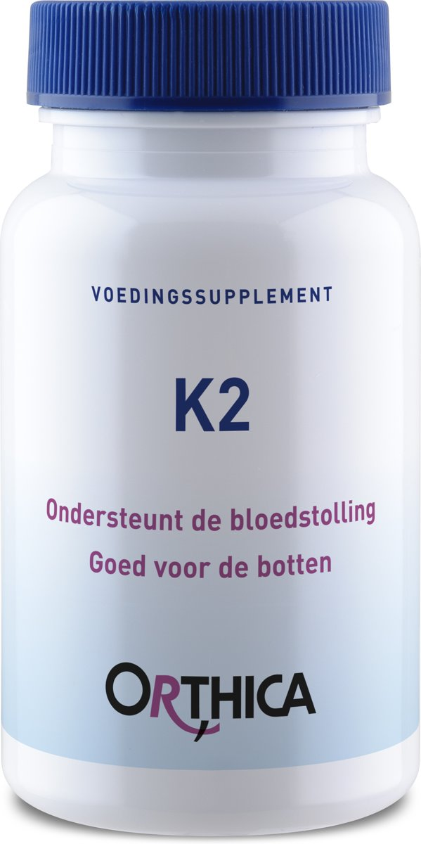 Orthica K2 (45mcg Vitamin K2) 60 Softgels (22g)