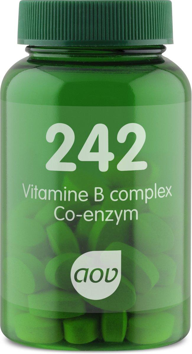 AOV 242 Vitamine B-complex Co-enzym (aktive B-Vitamine) 60 Tabletten