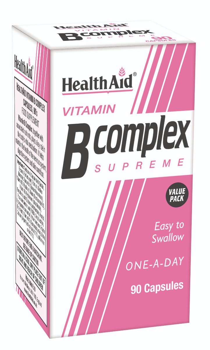 HealthAid Vitamin B Complex Supreme 90 Kapseln