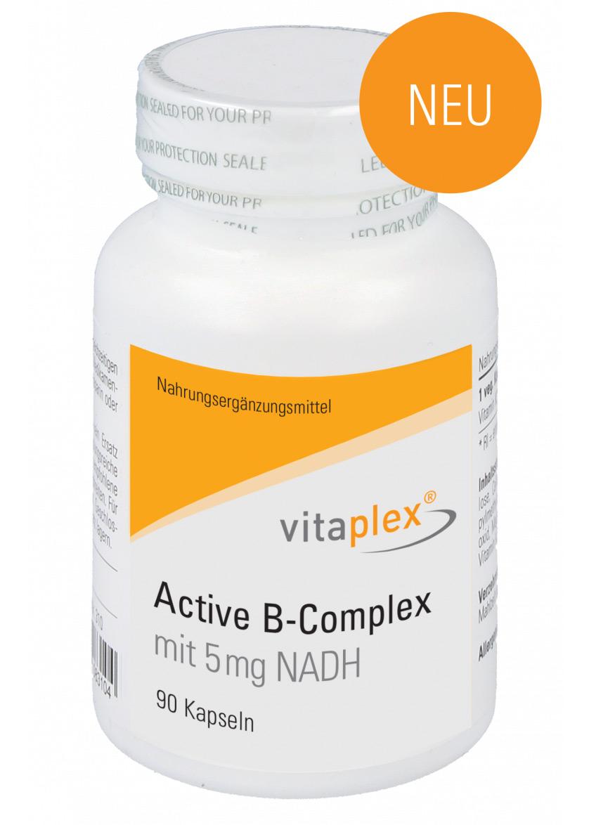 Vitaplex Active B-Complex mit 5 mg NADH 90 Kapseln