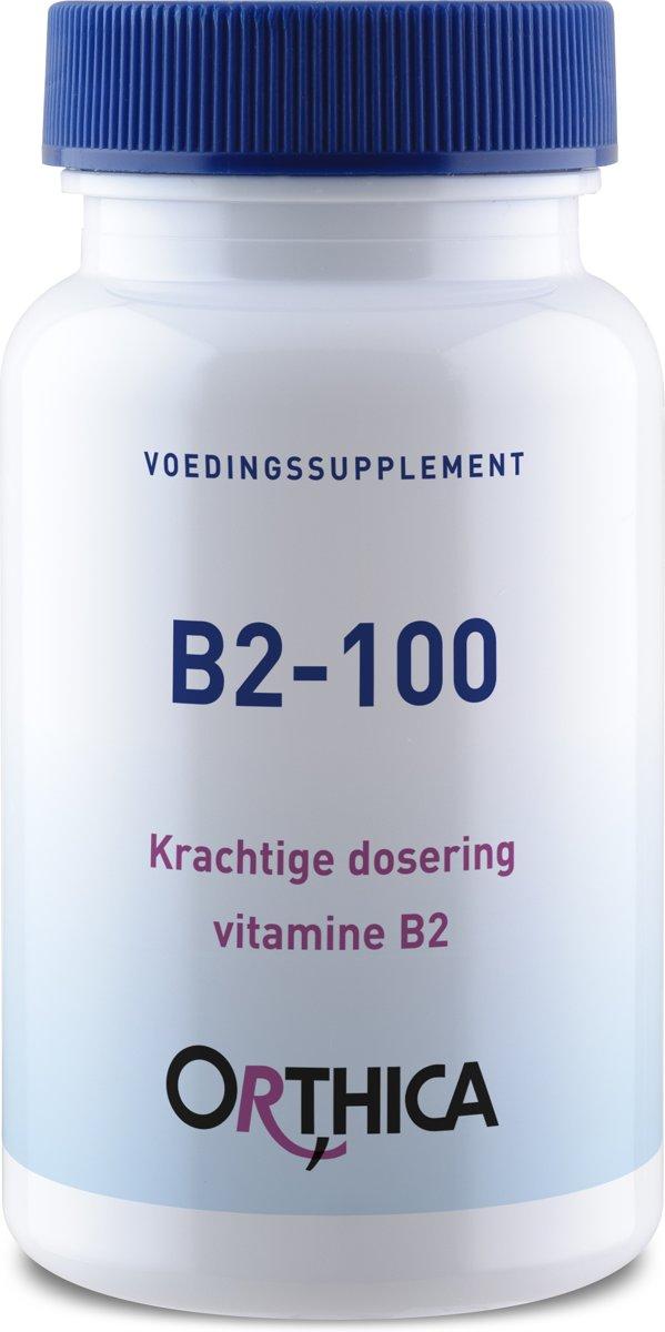 Orthica B2-100 (100mg Vitamin B2) 90 Tabletten