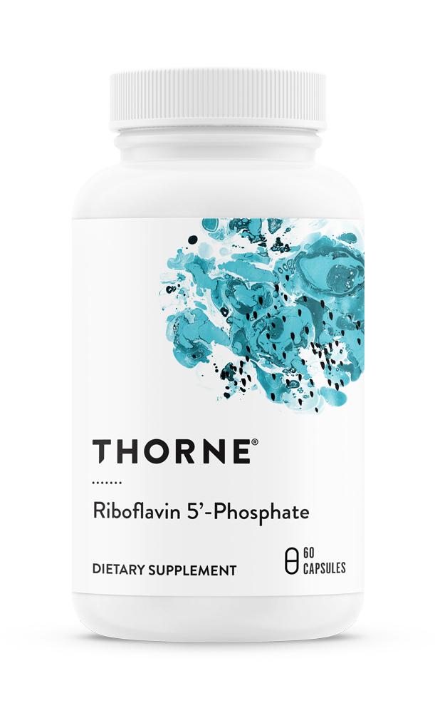 Thorne Research Inc. Riboflavin 5-Phosphat [aktives Vitamin B2] 60 veg. Kapseln (10g)