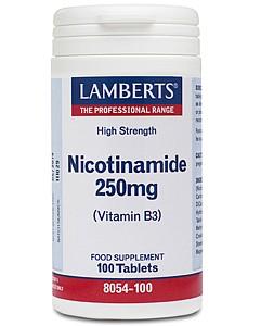 Lamberts Nicotinamide (Vit B3) 250mg 100 Tabletten