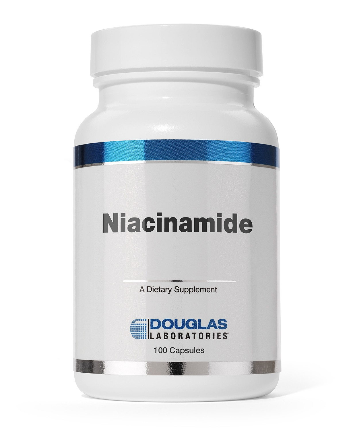 Douglas Laboratories Europe Niacinamid (Vitamin B-3) 500 mg 100 Kapseln (61g)