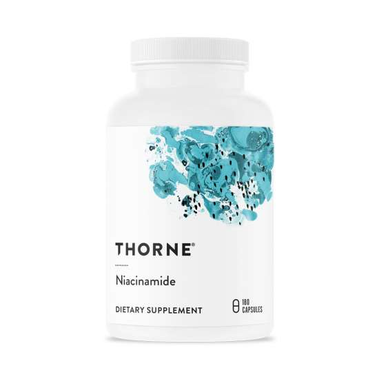 Thorne NIACINAMIDE (500mg) 180 veg. Kapseln (112g)