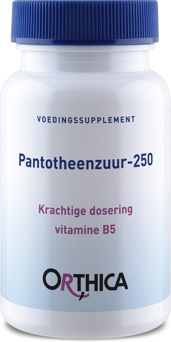 Orthica Pantotheenzuur-250 [Pantothensäure] 90 Tabletten