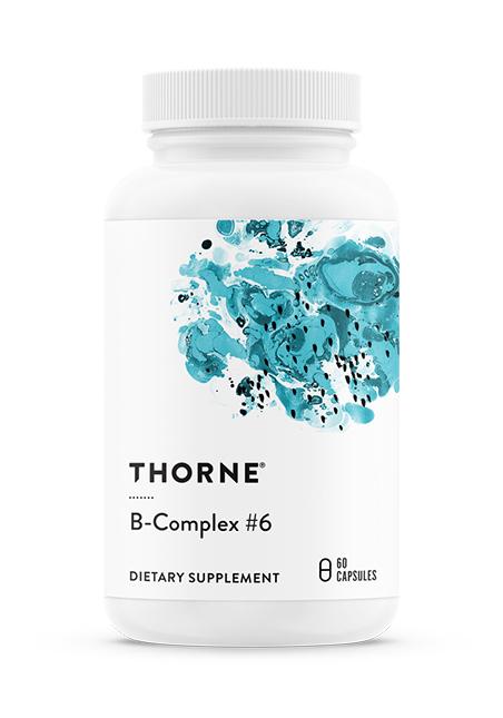 Thorne Research Inc. B Complex #6 60 veg. Kapseln (47g)