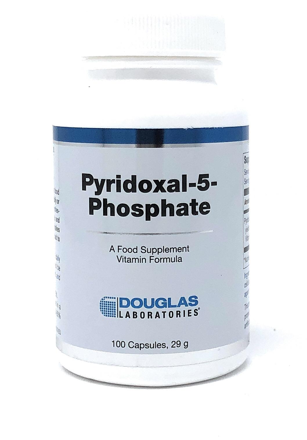 Douglas Laboratories Europe Pyridoxal-5-Phosphat P-5-P (CoEnzym B6) 100 Kapseln (29g)