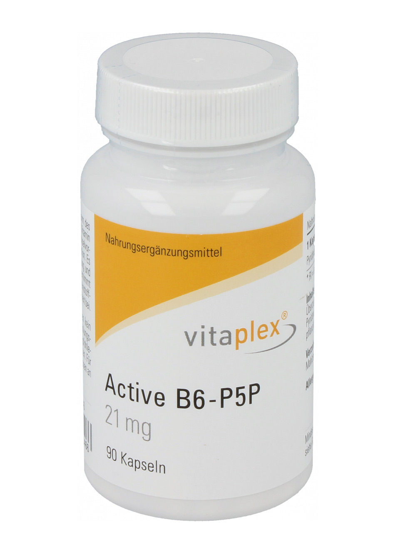 Vitaplex Active B6-P5P 21mg 90 veg. Kapseln
