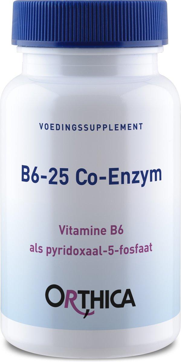 Orthica Co-Enzym B6-25 (25mg Pyridoxal-5-Phosphat) 60 Kapseln
