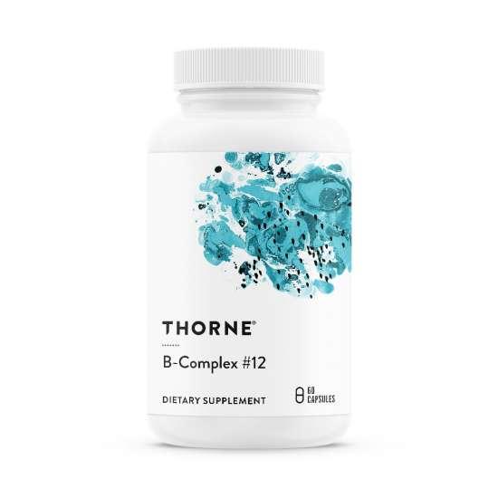 Thorne B-Complex #12 (Vitamin B12 + B-Komplex) 60 veg. Kapseln (26g)