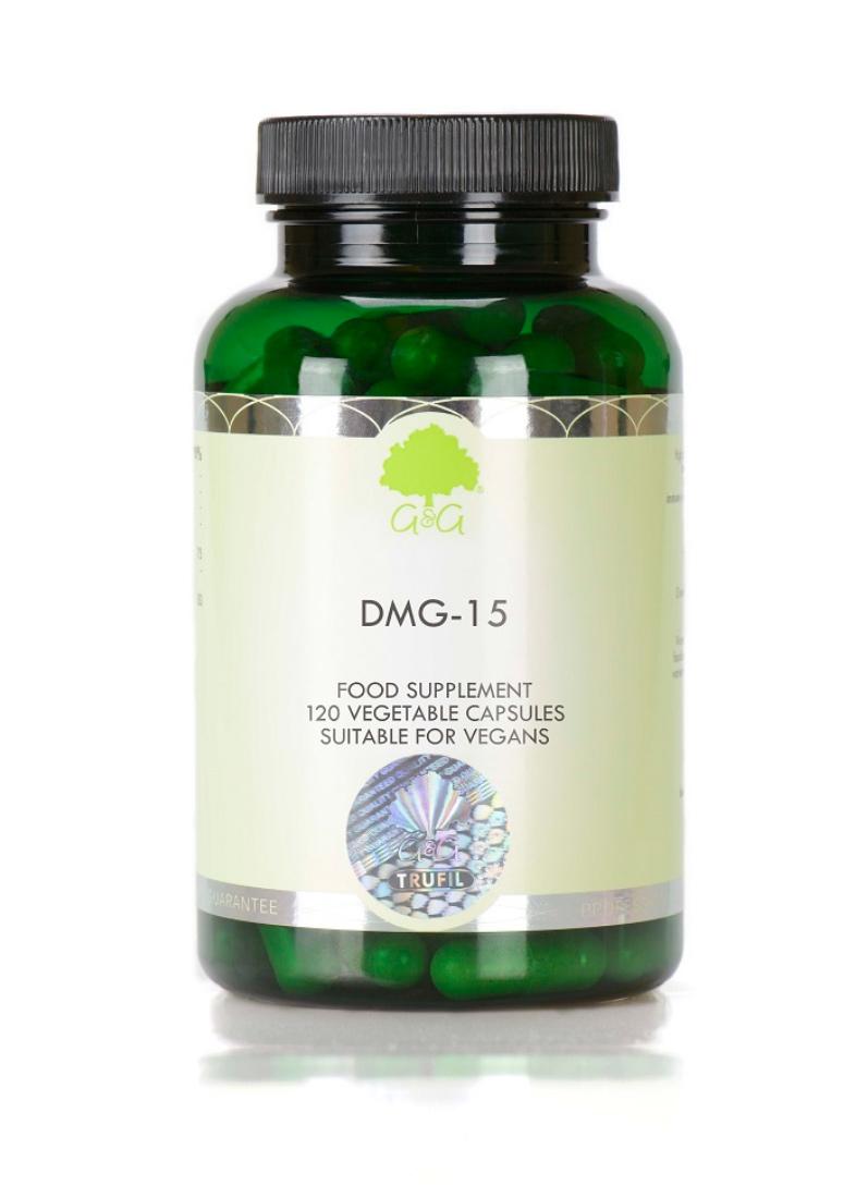 G&G Vitamins DMG-15 120 veg. Kapseln (69,8g) (vegan)