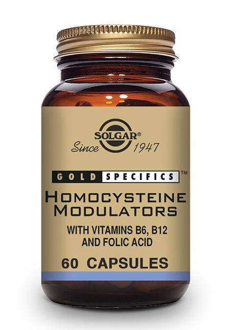 Solgar GOLD SPECIFICS™ Homocysteine Modulators™ 60 veg. Kapseln