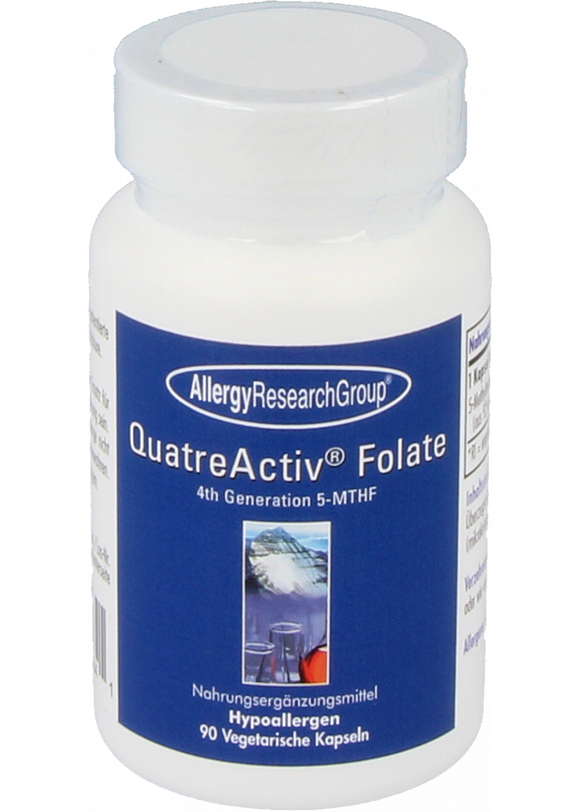 Allergy Research Group QuatreActive Folate 5-MTHF 90 veg. Kapseln