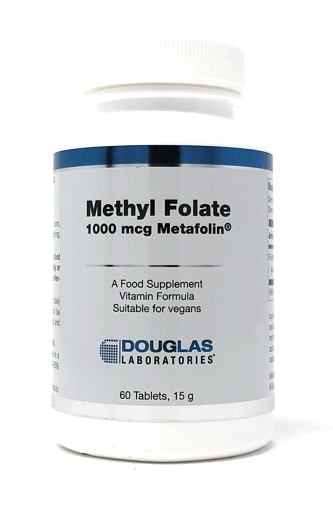 Douglas Laboratories Europe Methyl Folate (1000mcg Metafolin) 60 Tabletten (15g)(vegan)