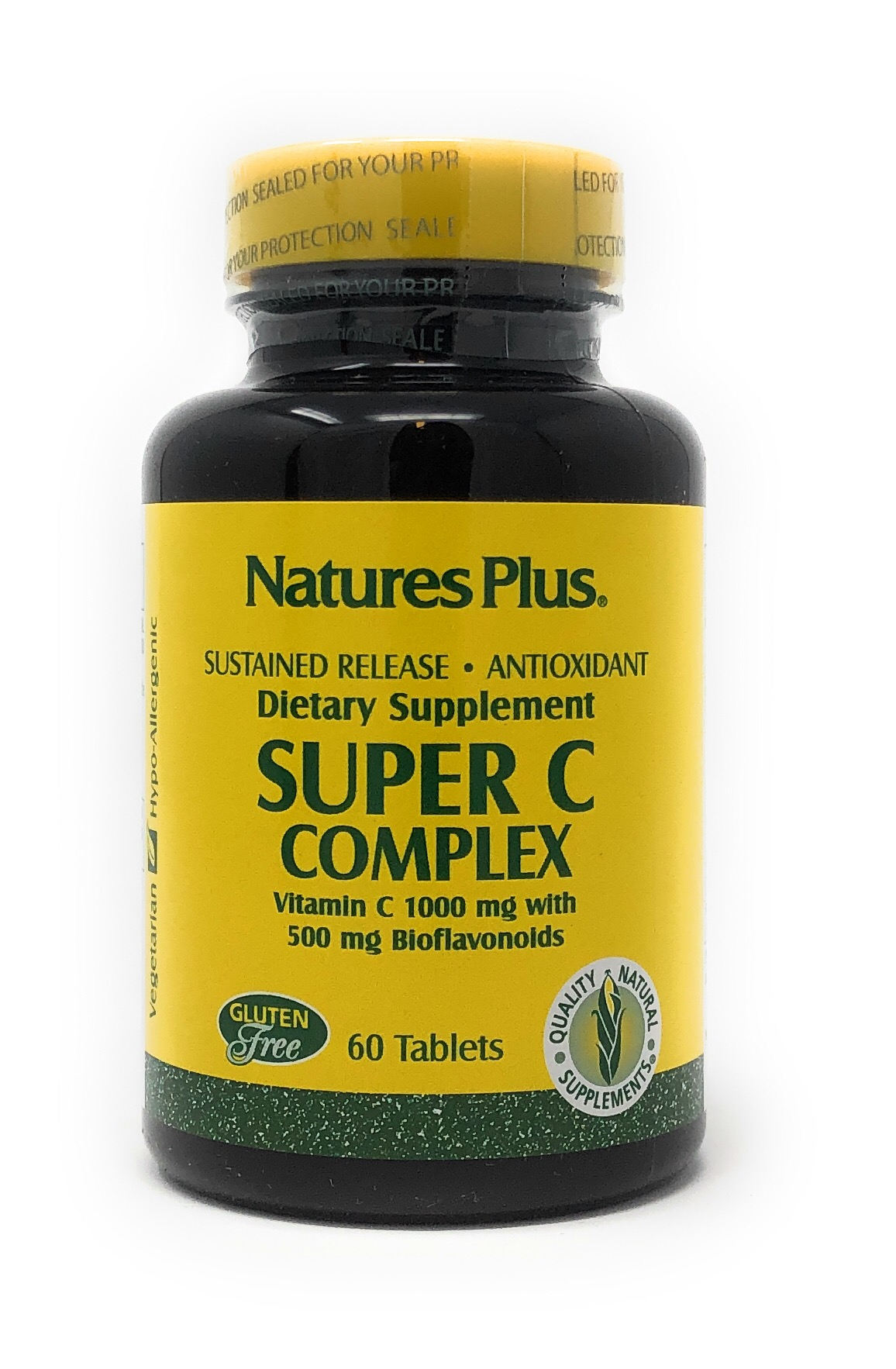Natures Plus Super C Complex 1000mg S/R 60 Tabletten (135,6g)
