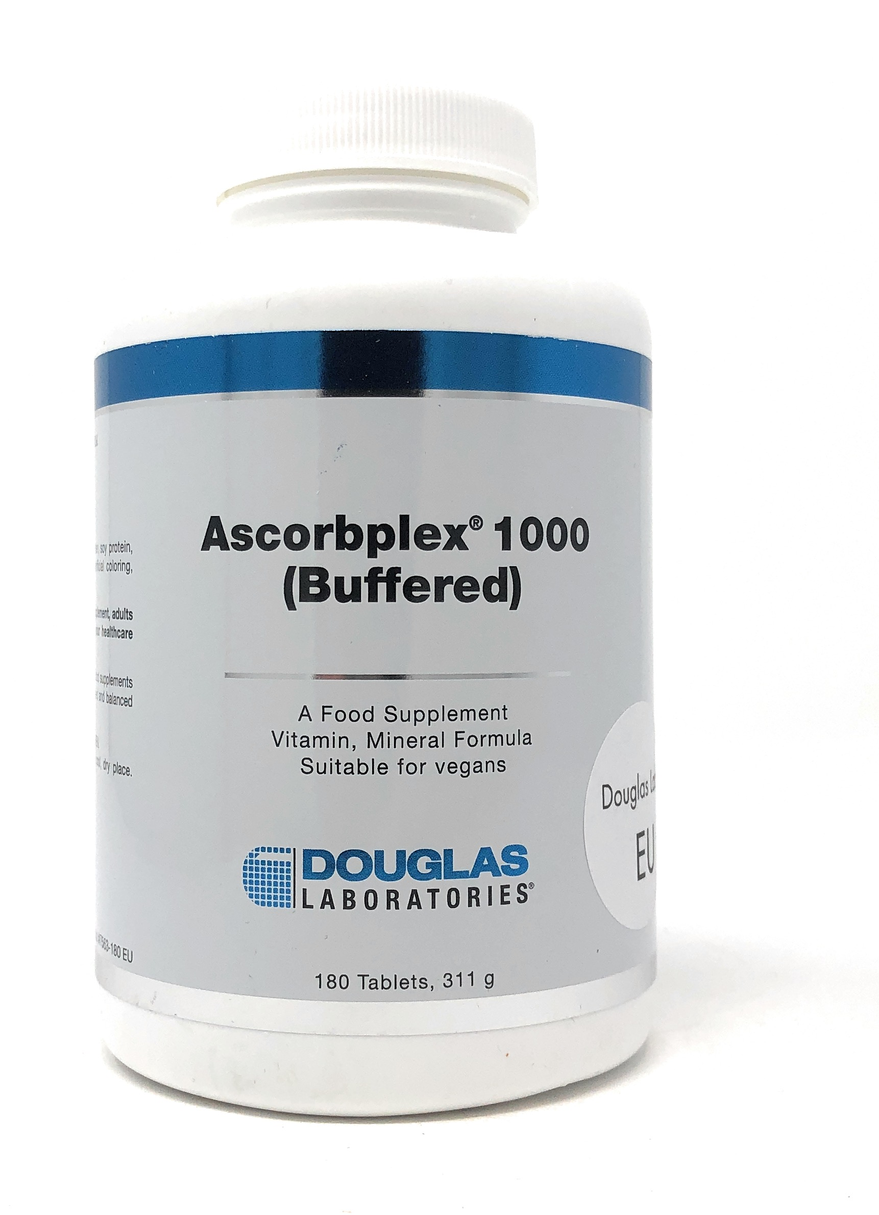 Douglas Laboratories Europe Ascorbplex® 1000 [gepuffertes Vitamin C] 180 Tabletten (311g)