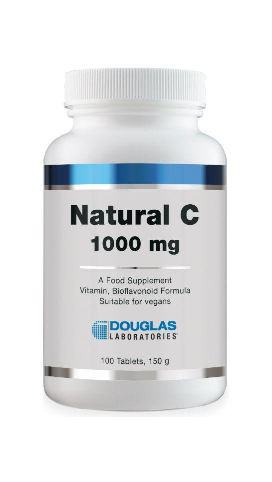 Douglas Laboratories Europe Natural C Vitamin C 1000 mg 100 Tabletten (150g)