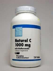 Douglas Laboratories Europe Natural C Vitamin C 1000 mg 250 Tabletten (376g)