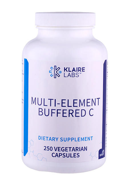 Klaire Labs Multi-Element Buffered C 250 veg.Kapseln (72g)