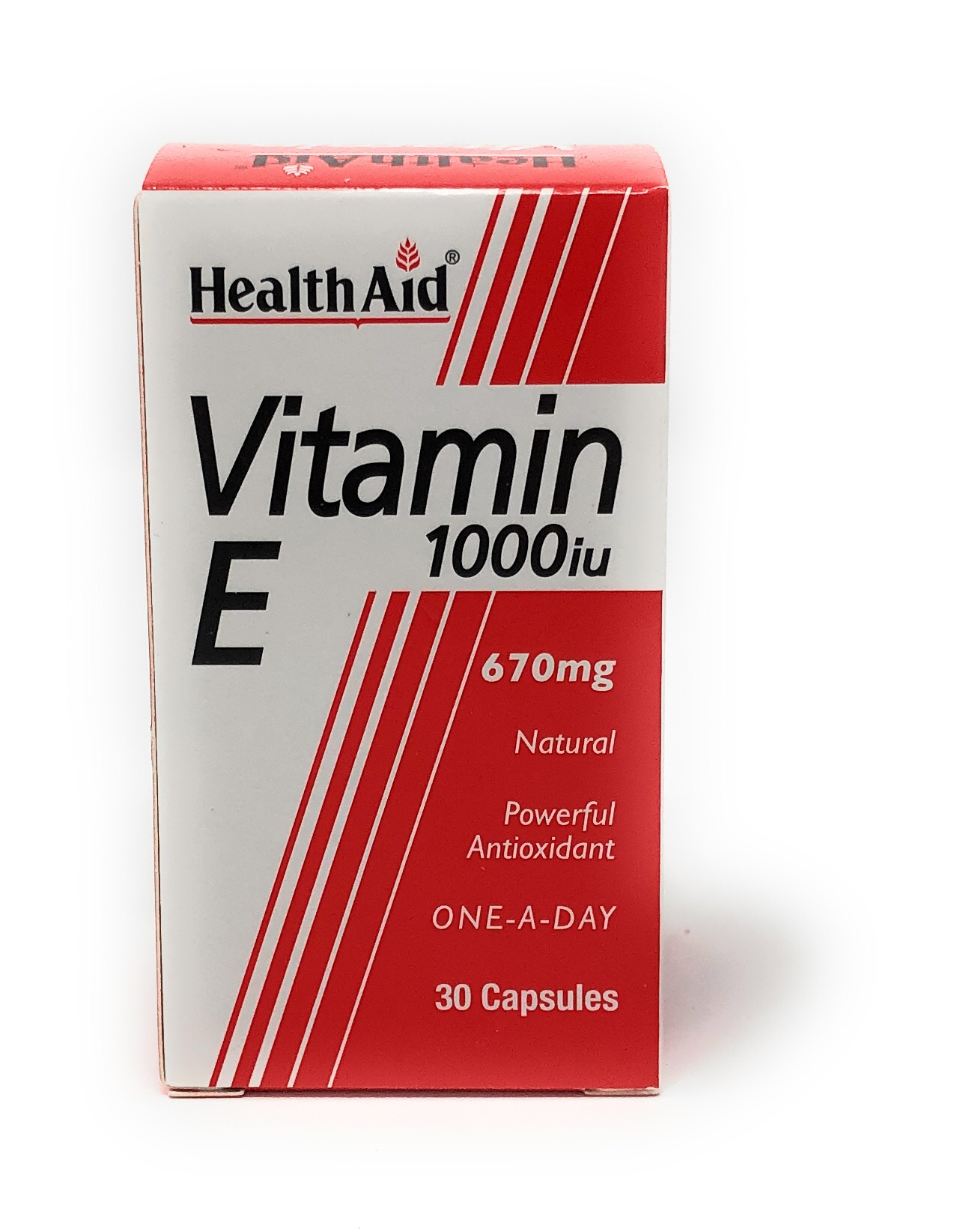 Health Aid Vitamin E 1000iu 30 Kapseln