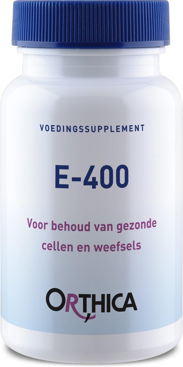 Orthica E-400 (400 I.E. Vitamin E) 60 Kapseln