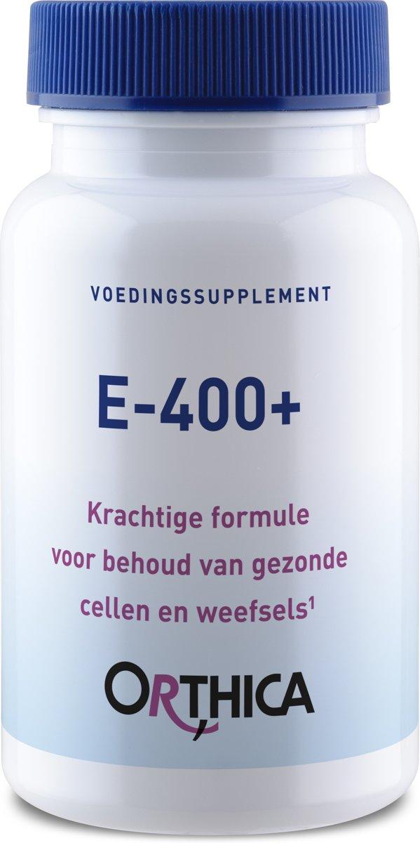 Orthica E-400+ (Vit. E gem. Tocopherole) 60 Kapseln